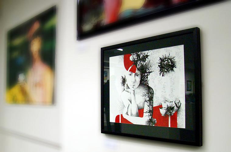 Expozitie de grup - Waterside Arts Centre, Sale, UK